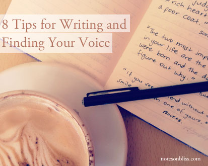 tips for writing finding your voice