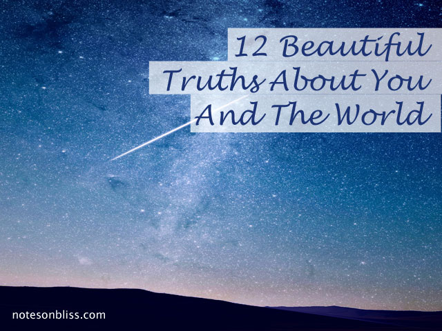 truths about you