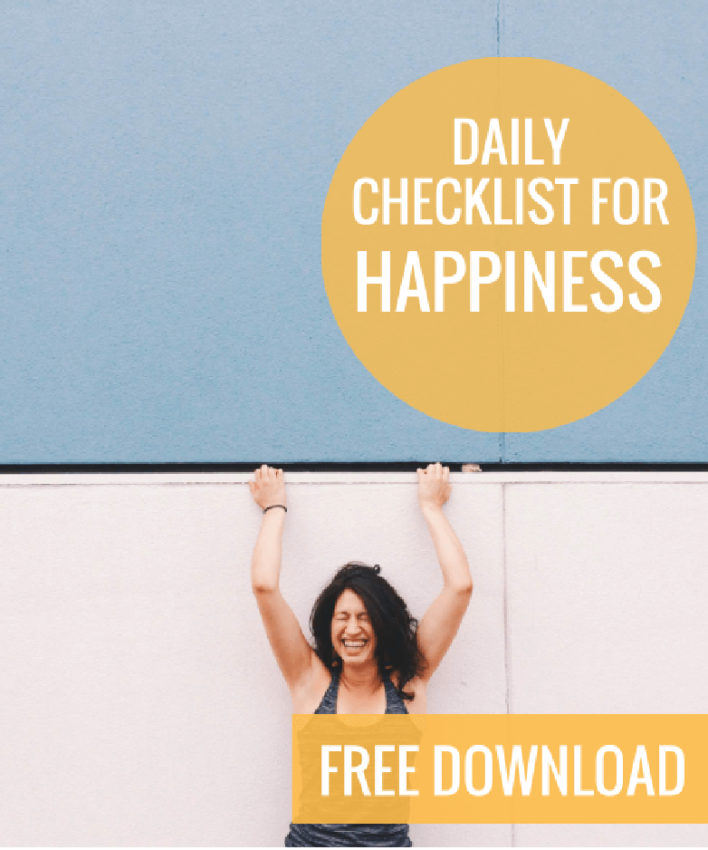 checklist for happiness