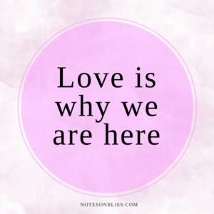 love-is-why-we-are-here-quote